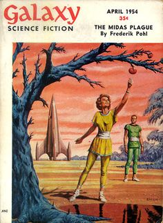 April 1954.issue of Galaxy magazine. Another venerable SF publication that's no longer with us.