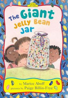 The Giant Jelly Bean Jar by Marcie Aboff. Ben really wants to answer the riddle that would win him a big jar of jelly beans, but he is too shy to say it out loud.