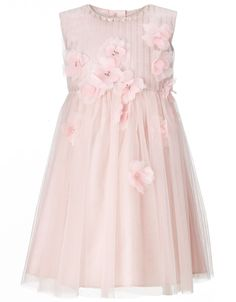 Baby Bailey Dress | Pink | Monsoon