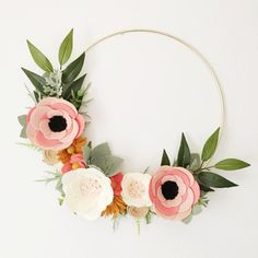 Sharing floral design to the green thumb challenged, alison michel offers modern & whimsical wreaths that dont require any H2O. Brighten up your home or special event with this hand curated beauty. Made with love for you and is sure to be a treasure for years to come!  This wreath was inspired by the Rosa Floral print of Rifle Paper Cos fabric collection. The grapevine wreath shown in third picture is 18 in size and can be ordered by special request {message me to request}. This listing is…