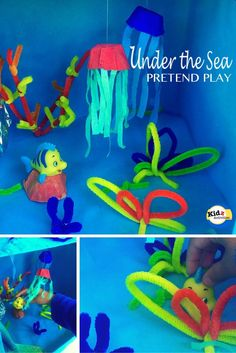 Under the Sea Pretend Play - Kidz Activities