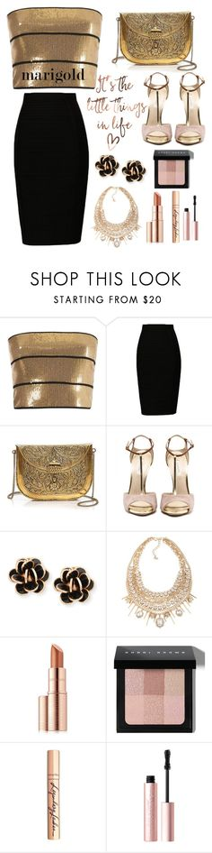 """Untitled #244"" by helenatalia2001 ❤ liked on Polyvore featuring Reinaldo Lourenço, From St Xavier, Chantecler, ABS by Allen Schwartz, Estée Lauder, Bobbi Brown Cosmetics, Charlotte Tilbury and Too Faced Cosmetics"