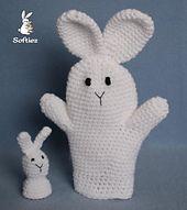 FREE THRU Ravelry: Bunny Puppets pattern by Lisa Bosch