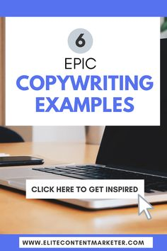 Finding the right words to tell your story is tricky for a beginner writer. If you are struggling with copywriting, we have the best copywriting examples that serve as inspiration. We also break them up to understand why they work. Writing Skills, Writing Tips, Writing Courses, Freelance Writing Jobs, Business Tips, Online Business, Copywriting, Blog Tips, Juices