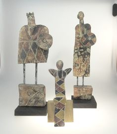 3 pieces made by John Maltby at 80