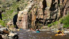 FT Collins Colorado Attractions | Kayaking on the Cache la Poudre near Fort Collins, Colorado