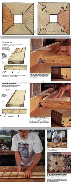 Four-Sided Quartersawn Table Legs - Furniture Leg Construction | WoodArchivist.com