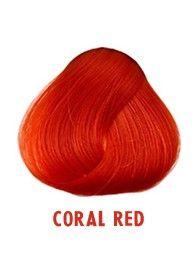 Hiusväri - Coral Red