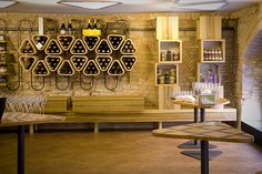 Vivace bar and restaurant by BCPT, Perugia – Italy » Retail Design Blog