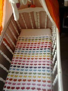 Hartjesdeken. Patroon: http://charami.com/2012/04/22/patroon-hartjesdeken/