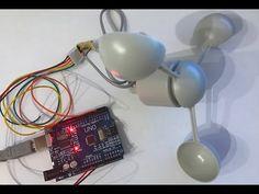 Windgeschwindigkeit mit dem Arduino messen - Anemometer selber bauen