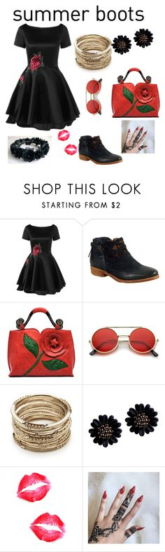 """pretty"" by saniyapotter ❤ liked on Polyvore featuring Miz Mooz and Sole Society"