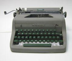Vintage Royal Heritage Portable Manual Typewriter  1954 by CanemahStudios on Etsy