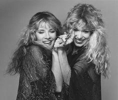 Stevie Nicks and Mary Torrey