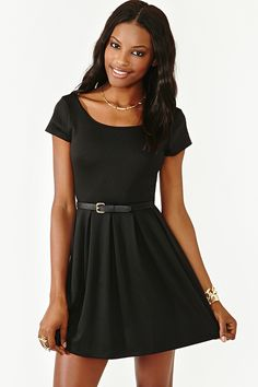 School's Out Skater Dress   I might this because of the model. I might just really like the dress.