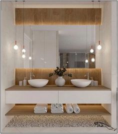 Łazienka duza - Lilly is Love Bathroom Design Inspiration, Bad Inspiration, Bathroom Design Luxury, Modern Bathroom Design, Toilet Design, Bathroom Furniture, Interior Design Living Room, Home Decor, Bathrooms