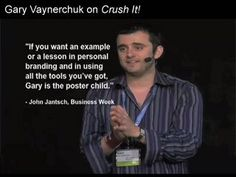 Crush It helps inspire any entrepreneur or work from home business startup from the story of this Russian immigrant family to New York.  Find your passion!