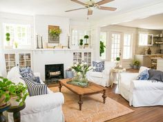 17 Ways to Decorate Like Chip and Joanna Gaines | Interior Design Styles and Color Schemes for Home Decorating | HGTV