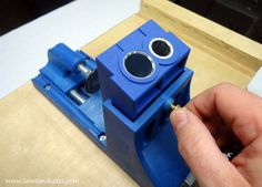 Pocket holes virtually disappear with a Pocket Hole Plug Cutter jig! Learn how to use this handy tool, take your furniture building to the next level and make your DIY projects look more professional.