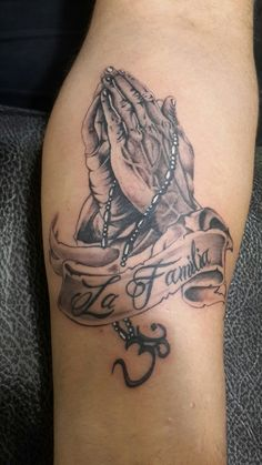 Praying Hands Tattoo on Forearm. For appointment please call or whatsapp your design 9650015002 www.miragetattoos.com   Mirage Tattoos, Best tattoo shop studio parlour in delhi | dwarka, Best tattoo artist in delhi | dwarka https://www.facebook.com/miragetattoos