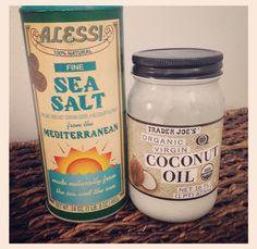 Inspirelinge Fitness: Coconut Oil Exfoliating Scrub