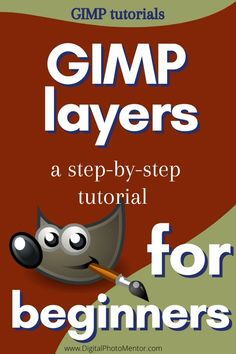 gimp tutorials how to use layers in GIMP Tuto Gimp, Gimp Tutorial, Photoshop Tutorial, Gimp Photo Editing, Editing Photos, Image Editing, Best Photo Editor, Photo Editor Free, Photography Software