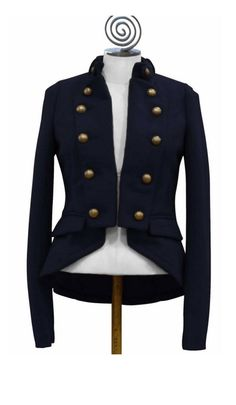 Military Jacket on Women Jackets Womens Military Style Jacket ...