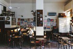 """Résultat de recherche d'images pour """"καφενειο ζαχαρατου αθηνα"""" Greek Cafe, Coffee Places, Greece, Photo Wall, Traditional, Home Decor, Cafes, Belle Epoque, Cafeterias"""
