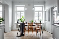 25 Scandinavian Dining Room Designs
