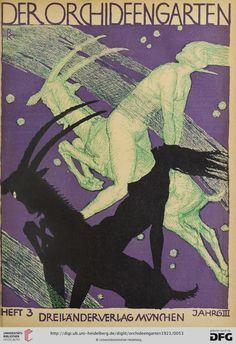 Der Orchideengarten : phantastische Blätter — 3.1921