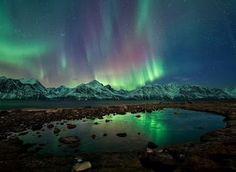 Beautiful sky lights