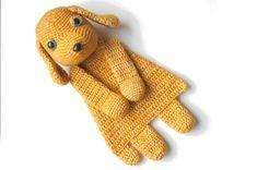 Mesmerizing Crochet an Amigurumi Rabbit Ideas. Lovely Crochet an Amigurumi Rabbit Ideas. Crochet Lovey, Manta Crochet, Crochet Patterns Amigurumi, Amigurumi Doll, Crochet Toys, Crochet Dog Patterns, Dk Weight Yarn, Stuffed Toys Patterns, Crochet Animals