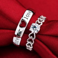 Personalized Couples Gifts | His Her Necklaces and Bracelets | Engraved Wedding Rings | Couples Clothing