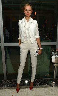 Pin for Later: Which Model WASN'T Out This Weekend? Karolina Kurkova Karolina Kurkova at the Fontainebleau Miami Beach Haute Living event.