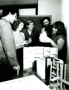 Interior Design students, 1982