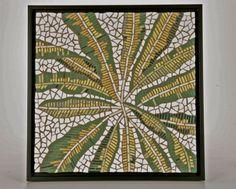 Mosaic fern wall art, Stephen Holloway