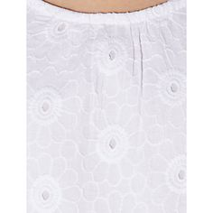 Buy John Lewis Girl Sleeveless Embroidery Dress, White Online at johnlewis.com