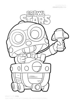 Carl from Brawl Stars You are in the right place about Brawl Stars Co Paisley Coloring Pages, Star Coloring Pages, Abstract Coloring Pages, School Coloring Pages, Free Adult Coloring Pages, Animal Coloring Pages, Blow Stars, Free Doodles, Profile Wallpaper