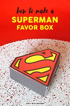 at home party ideas Superman Party Favors, Superhero Party, Superman Birthday, Superman Superman, Superman Games, Birthday Activities, Activities For Kids, Superman Crafts, Craft Projects For Kids