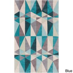 Hand-tufted Contemporary Geometric Rug (8' x 11') | Overstock.com Shopping - Great Deals on 7x9 - 10x14 Rugs