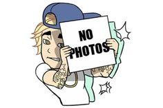 Justin Bieber a publié une photo qui sème le doute : aurait-il décidé de créer une application d'émojis ?