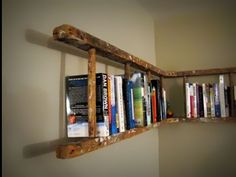 Another cool home library idea.