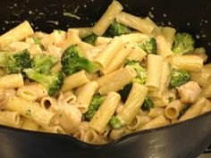 I am always making some healthy version of a chicken broccoli ziti.  Let me tell you right now, if you are looking for low cal or even remotely healthy, you should stop right here.  The only thing healthy about this recipe is that it has broccoli!  It's full of butter, yes, real butter, heavy cream [...]