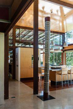 Peter Stutchbury Bangalay Peter Stutchbury, Interiors, Spaces, Architecture, Building, Kitchen, Room, House, Furniture