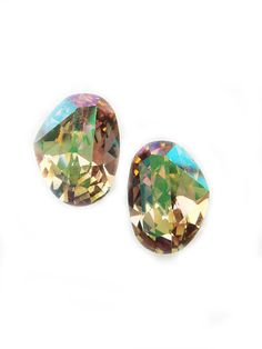 Special Edition Vintage Swarovski Crystal Earrings by BreatheCouture, $25.00