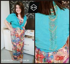 Camisa Elegance Plus Size  Coloque em suas fotos #UseElegance