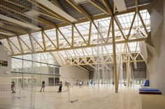 Le lycée Nelson Mandela de Nantes : catégorie Bâtiments Publics, Education & Culture