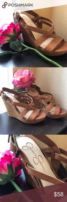 Nurture /'Truth/' Wedge Platform Sandals Women/'s Slip-On Shoes White Size 11M