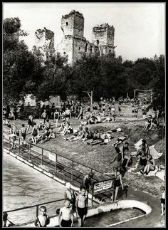 Diósgyőri strand, 1938 World History, How Beautiful, Hungary, Countryside, Dolores Park, Arch, 1, Culture, Retro