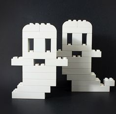 Simple Lego ghosts